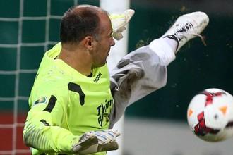 Вратарь сборной Венгрии Габор Кирай в своих знаменитых «трениках»
