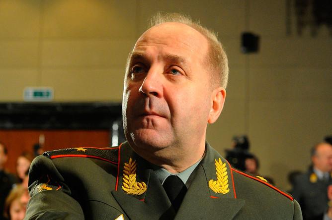 Руководитель ГРУ Генерального штаба Вооруженных сил РФ генерал-майор Игорь Сергун на Международной конференции «Фактор противоракетной обороны в формировании нового пространства безопасности», 2012 год