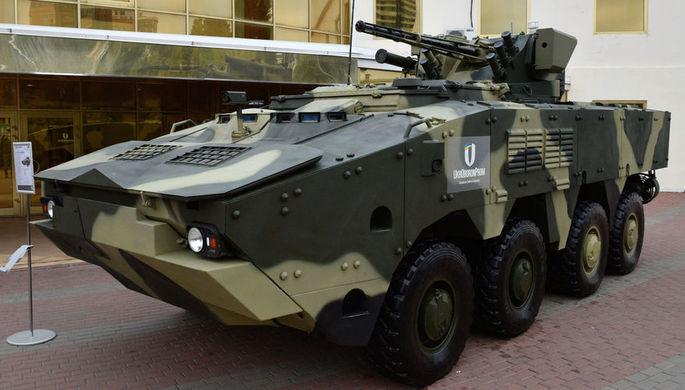Для украинских военных закупили бракованные БТР