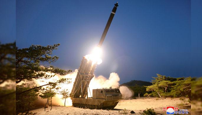 Сверхтяжелая «Катюша» Кима: КНДР провела новые испытания