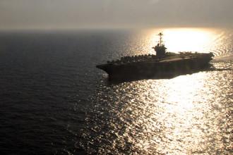 Авианосец «Гарри Трумэн» Шестого флота ВМС США в водах Средиземного моря