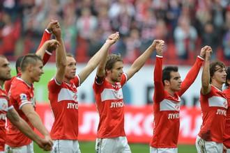 «Спартак» отпраздновал заслуженную победу над ЦСКА