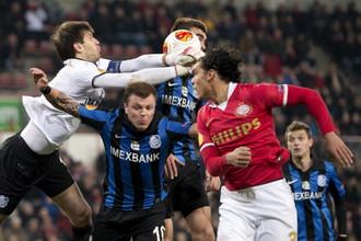 «Черноморец» в упорной борьбе обыграл ПСВ и вышел в плей-офф Лиги Европы