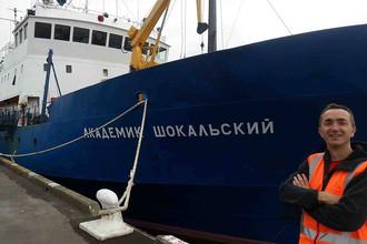 Исследовательское судно «Академик Шокальский» застряло во льдах Антарктики