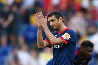 В матче против «Тосно» Алан Дзагоев вышел только на замену, чтобы сохранить больше сил к дерби со «Спартаком»