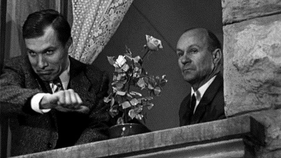 Кадр из телефильма «Семнадцать мгновений весны» (1973)