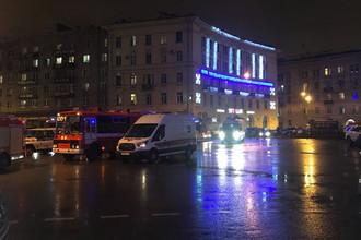 Ситуация на месте взрыва в одном из магазинов в Санкт-Петербурге, 27 декабря 2017 года