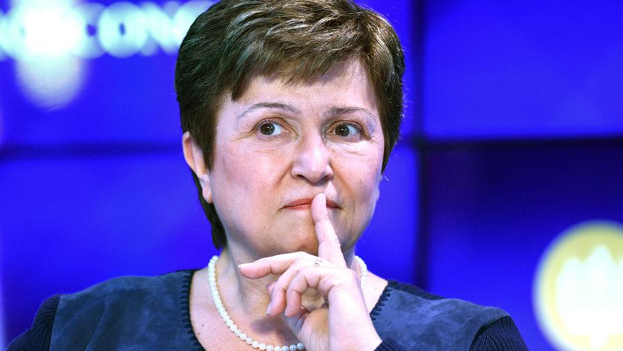 Глава МВФ заговорила с премьером Украины на русском языке