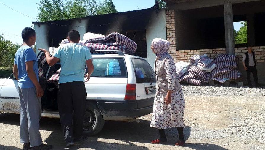 В Киргизии сообщили о 170 разрушенных домах из-за конфликта с Таджикистаном