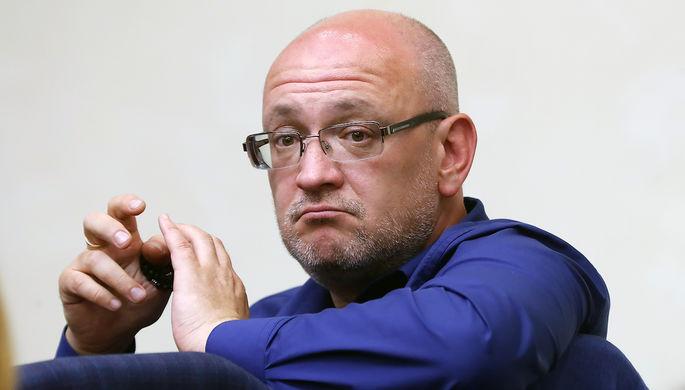 Депутат законодательного собрания Санкт-Петербурга Максим Резник