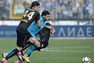 Смогут ли футболисты «Рубина» сдержать Халка без покинувшего команду Сесара Наваса (№44)?