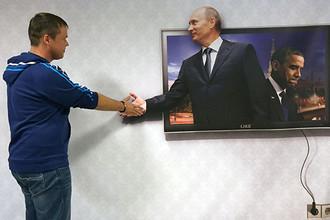 На выставке 3D-иллюзий в Самаре