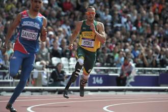 Оскар Писториус на Олимпийских играх в Лондоне