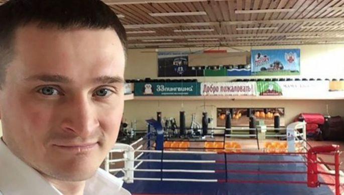 Артем Игнатьев в череповецком спортзале