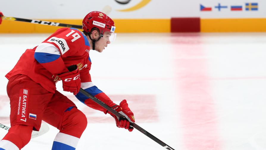 Хоккеист сборной России Василий Подколзин