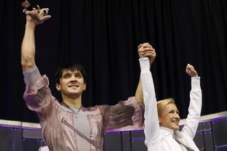 Миг триумфа российских чемпионов