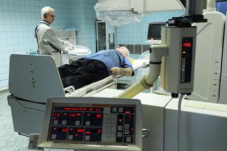 Подготовка пациента к лучевой терапии в Российском онкологическом научном центре им. Н.Н. Блохина РАМН