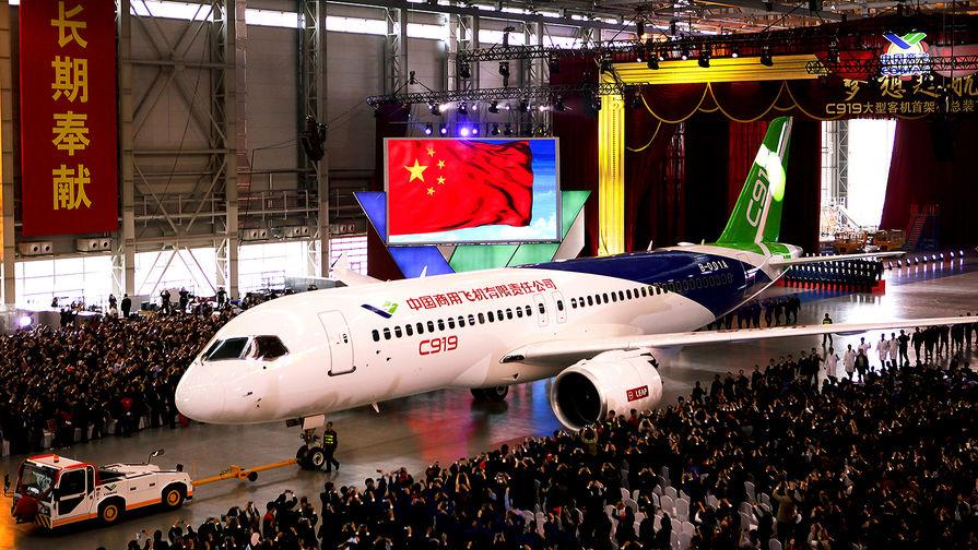 Экономику Китая разгонят самолеты