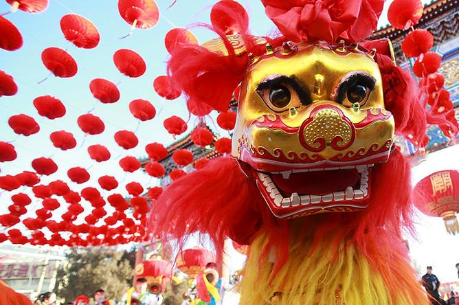 Празднование Нового года по лунному календарю в Пекине
