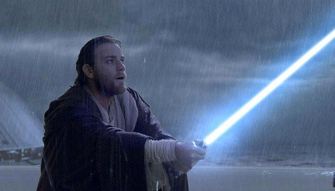 Юэн Макгрегор в роли Оби-Вана Кеноби в фильме «Звездные войны. Эпизод II: Атака клонов» (2002)