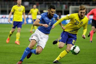 Стыковой матч Италия — Швеция