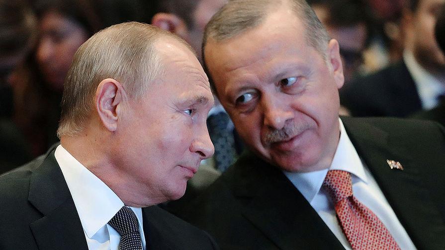 Эрдоган поблагодарил Путина Р·Р°РїРѕРјРѕС‰СЊ РІС'ушении лесных пожаров РІРўСѓСЂС†РёРё