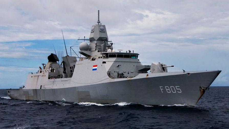 Российские самолеты преградили фрегату из Нидерландов путь к Крыму