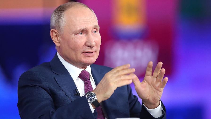 Путин анонсировал скорый выход российского самолета МС-21 на трассы