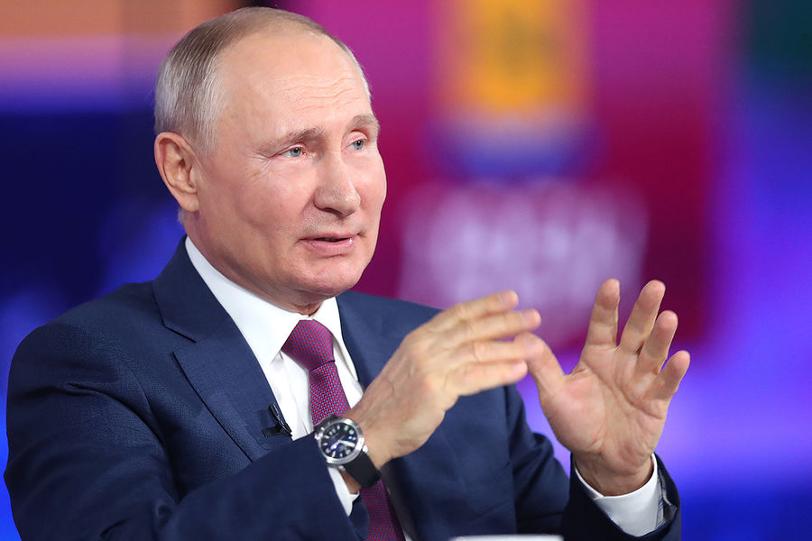 Путин дал РїСЂРѕРіРЅРѕР· РїРѕСЂРѕСЃС'Сѓ СЂРѕСЃСЃРёР№СЃРєРѕР№ СЌРєРѕРЅРѕРјРёРєРё