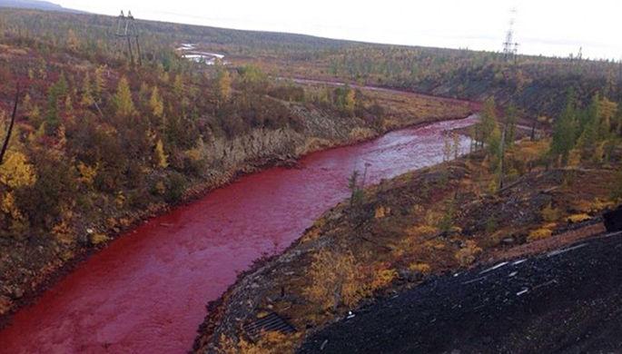 Красные реки России