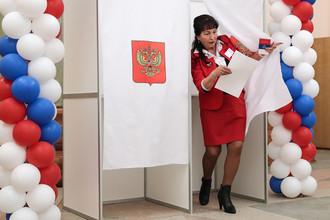 Голосование на выборах президента России в Казахстане, Байконур, 18 марта 2018 года