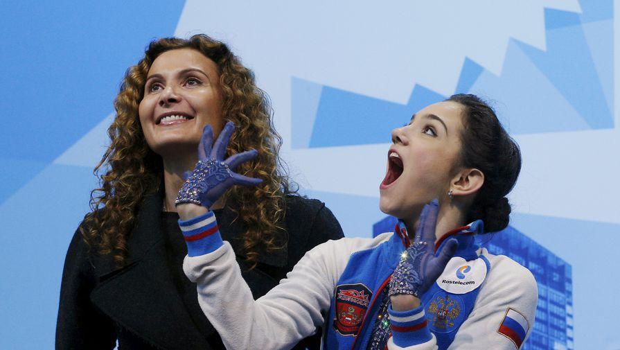 Теперь Этери Тутберидзе (слева) вместо Евгении Медведевой (справа) будет тренировать Элизабет Турсынбаеву
