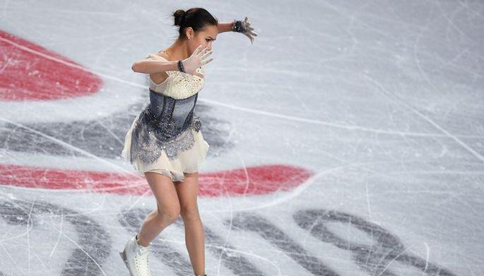 Алина Загитова в финале Гран-при в Ванкувере