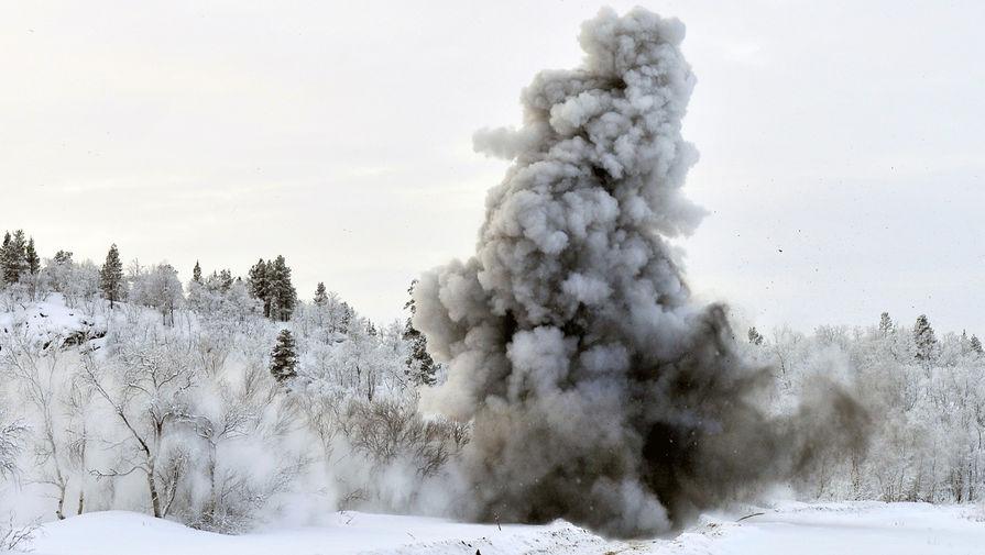Северный флот сообщил о пострадавших при взрыве в Мурманской области