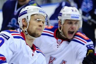 Петербургский СКА обыграл «Адмирал» в чемпионате КХЛ