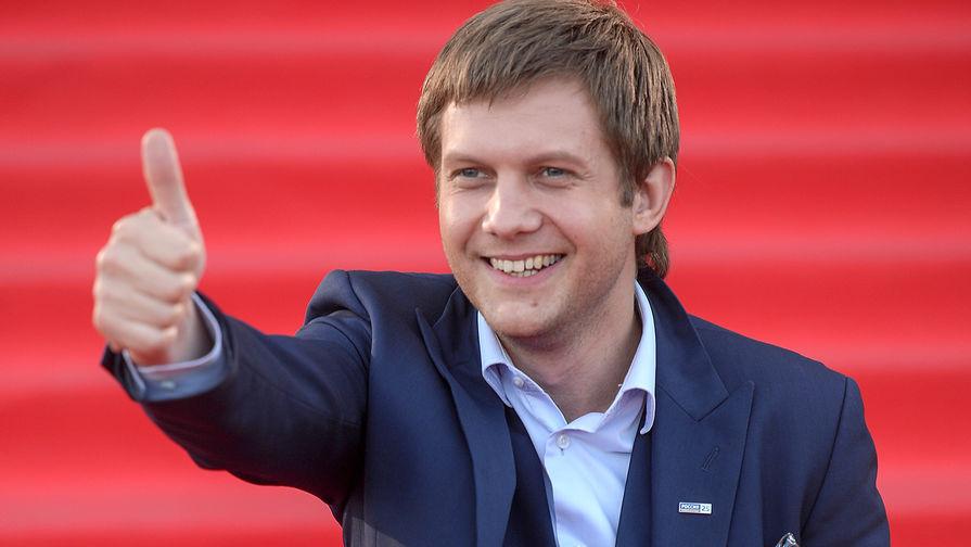 Телеведущий Борис Корчевников на церемонии вручения премии ТЭФИ-2016 в категории «Вечерний прайм» в Москве