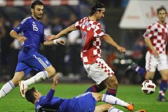 Матч Хорватия — Греция