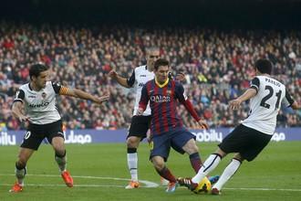 «Валенсия» принимает «Барселону»