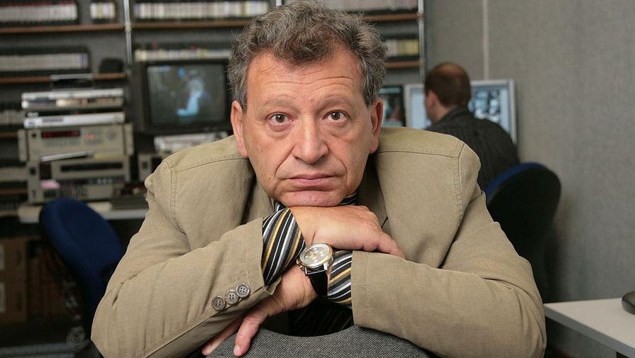 Директор киножурнала «Ералаш» Борис Грачевский в своем рабочем кабинете на студии им. Горького