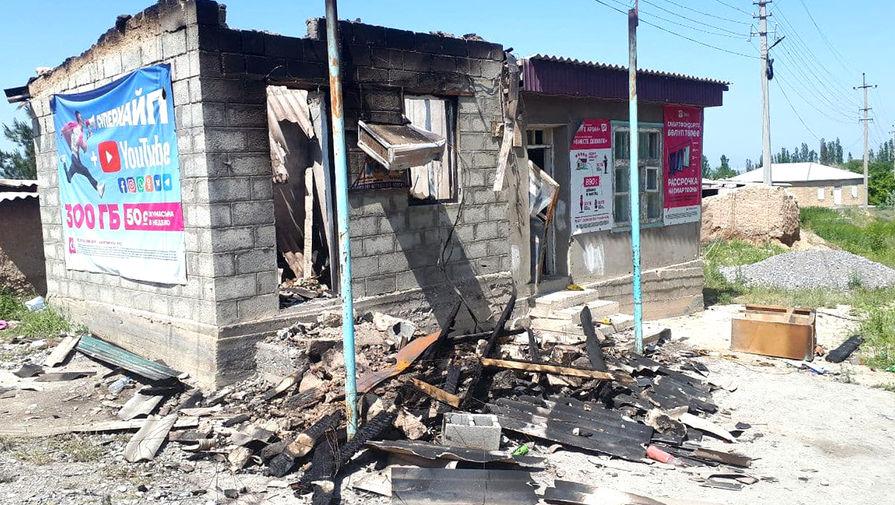 Власти Киргизии пообещали восстановить разрушенные на границе дома