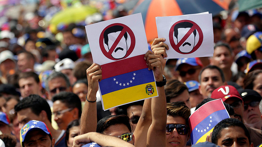 Венесуэла вышла из себя