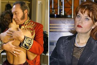 Олег Янковский и Людмила Шевель (коллаж)