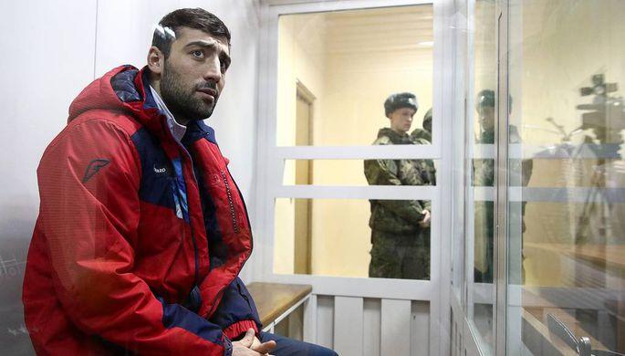 Российский боксер Георгий Кушиташвили