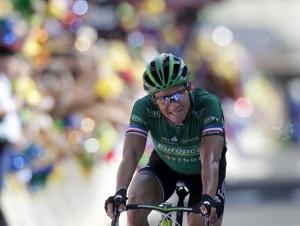 Ставший лидером общего зачета «Тура» Томас Фоклер