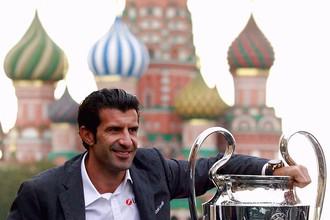«Это уникальное место. Москва –фантастический город, – раскидывался эпитетами Фигу. – Я рад вновь вернуться в Москву. Для меня большая честь находиться на Красной площади».
