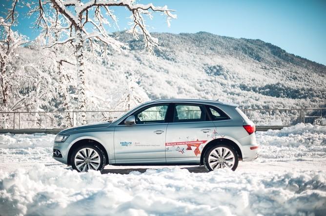 Гибридный Audi Q5 без проблем заводится даже в сильный мороз