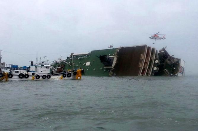 Затонувшее судно «Севол»