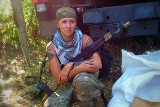 Дочь военного Веселина Черданцева