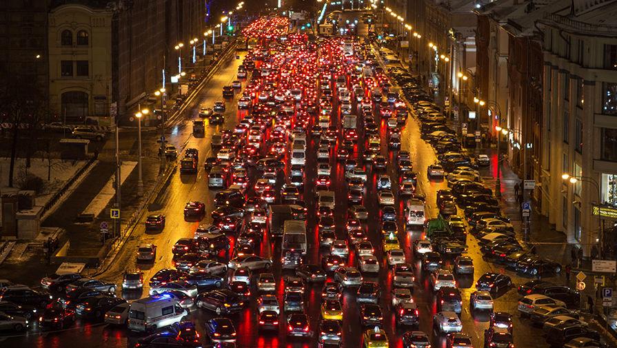 так московские пробки фото она одной тысячи