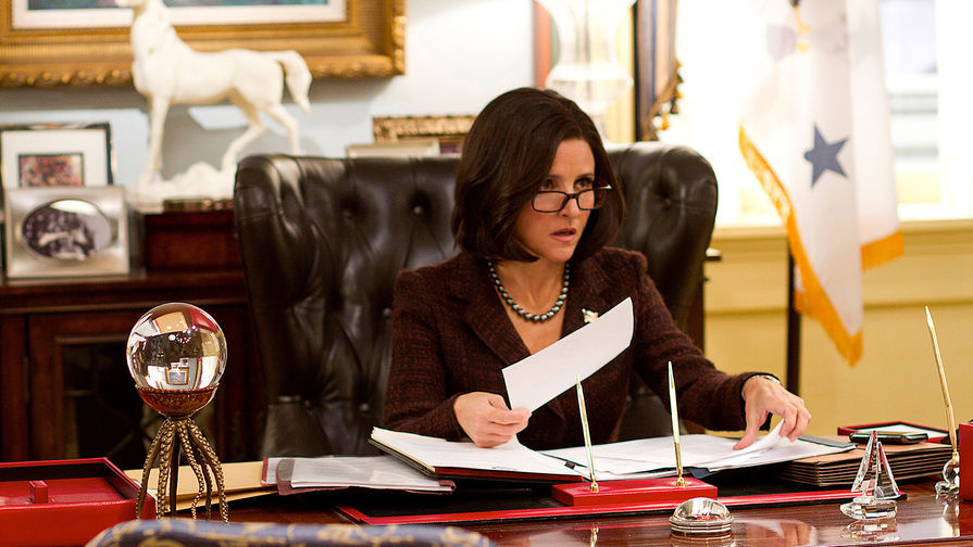 Кадр из сериала «Вице-президент»